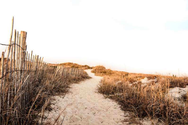 sandy beaches symbolizing freedom from north carolina opioid crisis