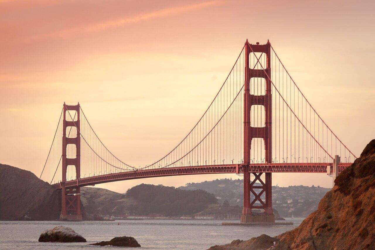 california bridge signifying problem with opioid crisis
